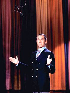 Johnny Carson.Saw him in person at 4am at Don The Beachcomber's in the 1960's and he gave me an autograph...
