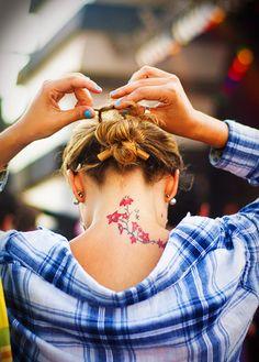 Fleurs #tatouage