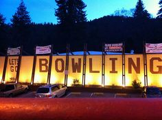 Rim Bowling - Crestline, CA  http://thewackytacky.blogspot.com/2012/02/bowl-o-rama-rim-bowling.html