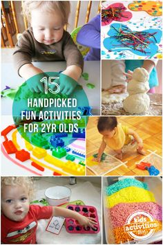15 handpicked fun activities for 2 year olds |mollymoocrafts.com for @Holly Hanshew Hanshew Homer