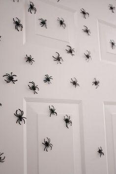 Eeks! Magnetic spiders!