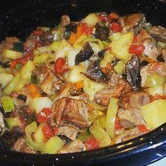 570 отметок «Нравится», 6 комментариев — Пальчики оближешь! (@po.recepty) в Instagram: «Жаркое в духовке Жаркое, а попросту, картошка с мясом и овощами, приготовленная в духовке – это…»