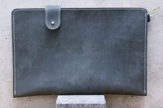 MacBook 12 Leather Sleeve  NELLY Organic Leather by filzstueck