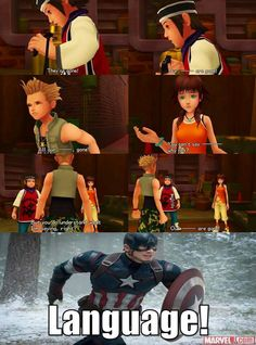This is awesome! XD Kingdom Hearts and Avengers crossover