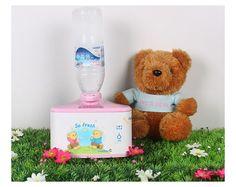 HUS 7000 Love Bear Mini Humidifier Potable Mist Home Office  Children's Room  #LoveBearC