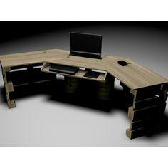 Studio Desk Render