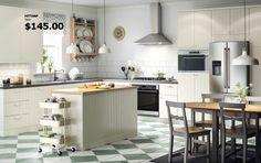 Ikea Hittarp cabinets