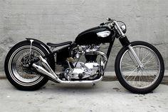 Triumph classic bobber