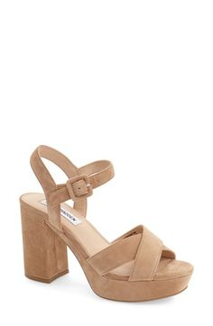 53b19ca39d49e Steve Madden 'Tempesst' Platform Sandal (Women) available at #Nordstrom  Chunky Shoes