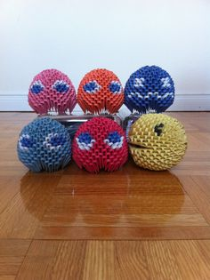 origami | 3D Origami Pac-Man - Origami Fan Art (31063705) - Fanpop fanclubs