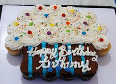 Cupcake cake idea (from Lisa).