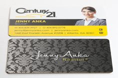 500 Luxury Real Estate Business Cards Silk Laminate by RedChannel