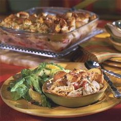 Chicken Cobbler Casserole | MyRecipes.com