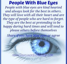 facts about blue eyed females - Google Search