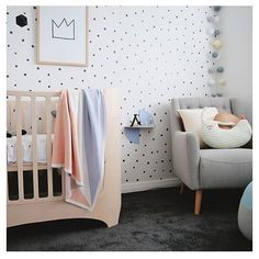 """If you guys are loving the look of this gorgeous nursery from you will love our much anticipated PRINTED EDITION which has opened for…"" Baby Nursery Furniture, Baby Nursery Decor, Baby Bedroom, Kids Bedroom, Kids Rooms, Baby Deco, Nursery Modern, Nursery Inspiration, Room Themes"