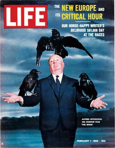 "Alfred Hitchcock - ""The Birds"" - LIFE Magazine"
