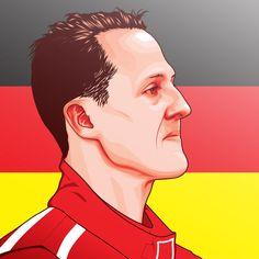 Pop Art - Michael Schumacher