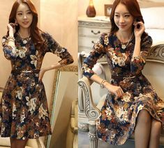 Cheap dresses beach, Buy Quality autumn dress directly from China dress like fashion designer Suppliers: Welcome to my shop Brand New & High Quality Fabric: flannel High-grade fabrics. Cheap Fashion, Retro Fashion, Fashion Outfits, Cheap Dresses, Formal Dresses, Flannel Dress, Retro Dress, Beach Dresses, Winter Dresses