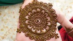 Traditional Arabic Hand Mehandi