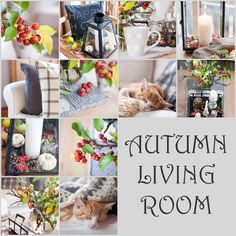 Herzenswärme: AUTUMN LIVING ROOM