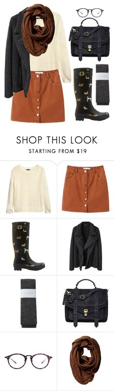 """""""Now That You're Here"""" by blweideman ❤ liked on Polyvore featuring H&M, Joules, Limi Feu, Hansel from Basel, Proenza Schouler and Friis & Company"""