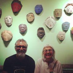 Clementina van der Walt and Albie Bailey at Design Indaba 2014