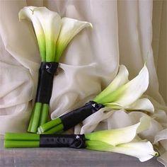 Calla bouquets...love these!