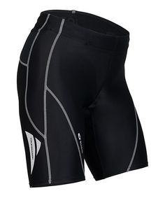 Take a look at this Black Piston 200 Pocket Tri Shorts by SUGOI on #zulily today!