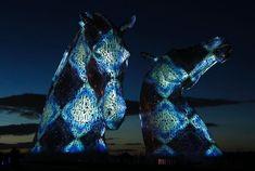 the kelpies   Andy Scott   The Kelpies in Falkirk, Scotland   Tutt'Art ...