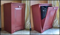 trash bin on pinterest trash bins mobile kitchen island and amish