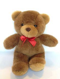 SOLD Vintage Osko Brown Cute Teddy Bear Plush