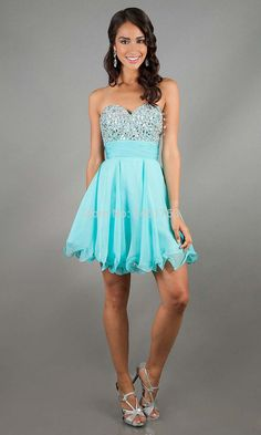 What are some cute cocktail dresses for grade 9 grad?