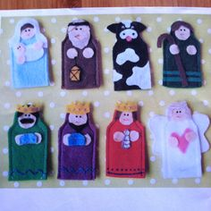 Christmas Nativity Finger Puppets