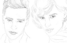 afairlyfabulouslife: IMPERFECT PERFECTION Sketches of Eddie Redmayne
