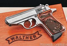 Three pistols that have become legends in their own right! Self Defense Weapons, Weapons Guns, Guns And Ammo, Walther Pp, Big Guns, Cool Guns, Rifles, Pocket Pistol, Personal Defense
