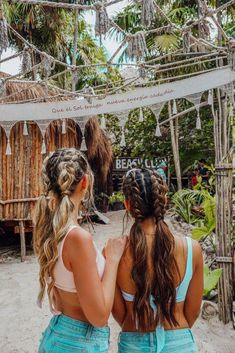 Carmella Top The Ultimate Girls' Guide to Tulum – Tripping with my Bff hairstyles for school The Ultimate Girls' Guide to Tulum Cute Hairstyles For Teens, Teen Hairstyles, Hairstyles For Beach, Wedding Hairstyles, Travel Hairstyles, Teen Haircuts, Famous Hairstyles, Evening Hairstyles, Blonde Hairstyles