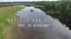 Mastbos van Boven - Drone Breda, The Netherlands - DJI Phantom 3 Profess...