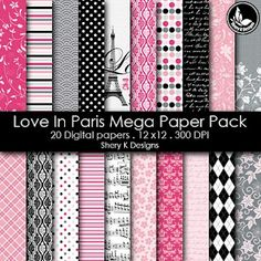 Free Printable 2 Digital Paper 12x12.  Don't forget to put the password(sherykdesigns.com) when u unzip the file..