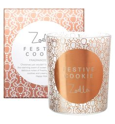 Zoella Festive Cookie Candle