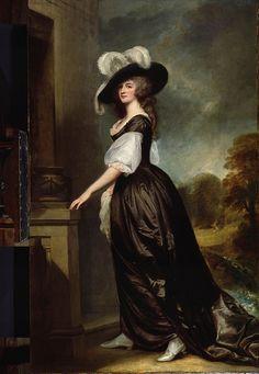 Charlotte, Lady Milnes  George Romney