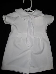 Baby Boy Blessing Outfit / Baby Boy Christening by TigersTies, $40.00