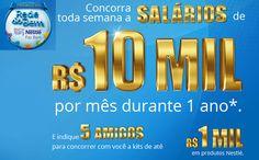 Promoção Nestle Rede do Bem - Concorra a salários de 10 mil reais #comofazer #promoções #nestle #rededobem #dicas