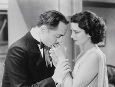 Kay Francis and William Powell as doomed lovers in One Way Passage