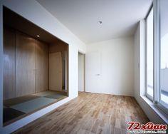 【小户型的双重生活卧室榻榻米、地板、白色黄色】小户型的双重生活卧室榻榻米、地板、白色黄色装修图片_72xuan家居网