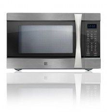 Kenmore Elite 1 5 Cu Ft Countertop Microwave W Convection Stainless Steel 74153