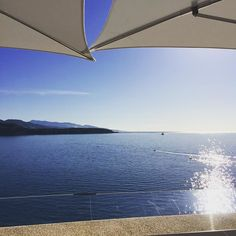 #Larvotto Petit déjeuner avec vue le bleu #bugatti #monaco cheers @attilaco by nathcarot from #Montecarlo #Monaco