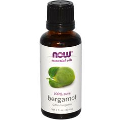 Now Foods, Essential Oils, Bergamot, 1 fl oz (30 ml) - iHerb.com wear it like perfume...relaxing and...okay it just smells yummy. Great scent for men and women.