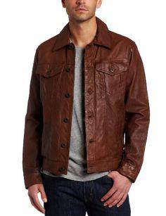 Levi's Men's Leather Classic Trucker Jacket « Impulse Clothes