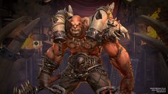 Garrosh Hellscrem - A fan art piece - Polycount Forum