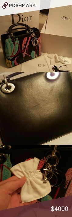 Lady Dior Signature Bag I DO NOT LIST ANYTHING FAKE! I wish everyone would  follow 97c62613749bb